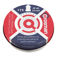 Crosman .22 Pointed Pellets - 175 Count