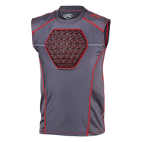 Rawlings Youth's Protective D-Flexion Compression Baseball Shirt