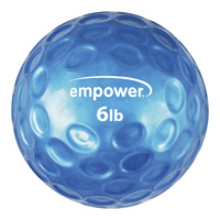 Empower Comfort-Grip 6 lb. Medicine Ball with DVD