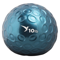 Empower Comfort-Grip 10 lb. Medicine Ball with DVD