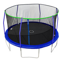 TruJump 14' Trampoline with Safety Enclosure