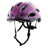 Bell Glow Purple Women's Bike Helmet
