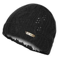 Chaos Women's Pointelle Cable Cuffed Beanie