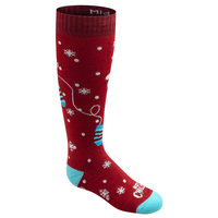 Hot Chilly's Youth's Mittens Mid Volume Winter Snowsport Socks