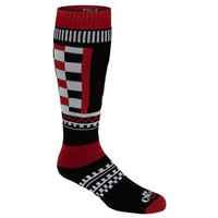 Hot Chilly's Men's Formula Stripe Winter Sport Socks