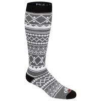 Hot Chilly's Men's Tribe Mid Volume Winter Sport Socks