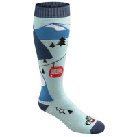 Hot Chilly's Women's Gondola Mid Volume Winter Snowsport Socks