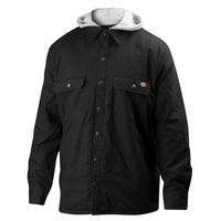 Dickies Men's Relaxed-Fit Hooded Duck Quilted Jacket