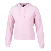Activ8 Women's Boxy Velour Pullover Hoodie