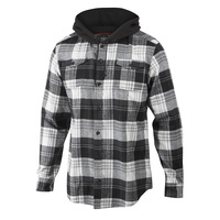 Burnside Men's Flannel Hoodie