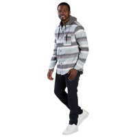 Pipeline Men's Baja Hooded Flannel