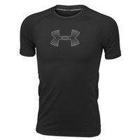 Under Armour Boys' HeatGear® Armour Short-Sleeve Shirt