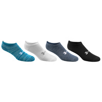 Under Armour Women's Holiday No Show Socks - 4-Pack
