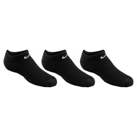 Nike Youth's Performance Cushioned No-Show Training Socks - 3-Pack