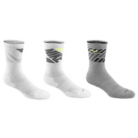 Nike Dri-FIT Graphic Crew Socks - 3-Pack