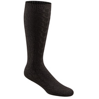Bearpaw Women's Cable Knit Knee High Socks