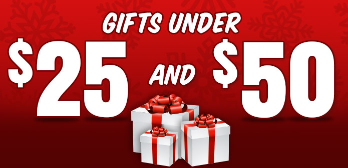 Gifts Under 25 and 50